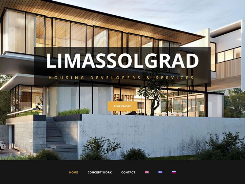 limassolgrad plexsites website design