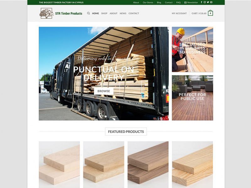 str timber gallery plexsites website design graphic design social media marketing