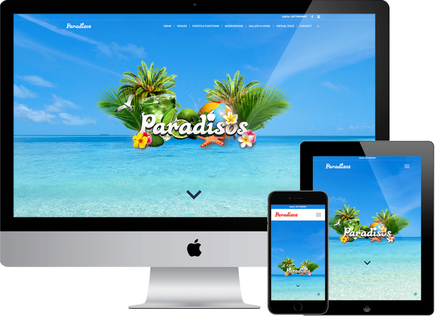website design plexsites paradisos cyprus